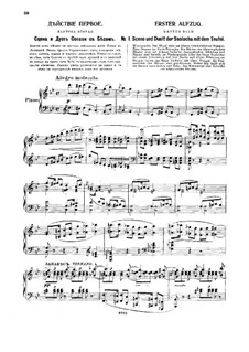 The Slippers, TH 8: Act I by Pyotr Tchaikovsky
