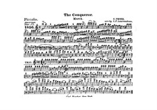 Graf Zeppelin (The Conqueror): Flute piccolo part by Carl Teike