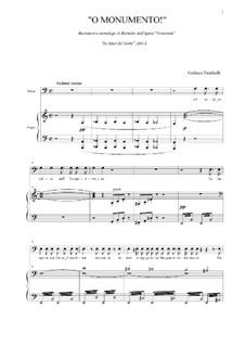 La Gioconda: O Monumento! Recitativo e monologo di Barnaba by Amilcare Ponchielli