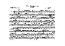 Graf Zeppelin (The Conqueror): Clarinet I in B part by Carl Teike