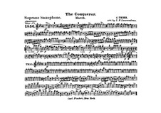 Graf Zeppelin (The Conqueror): Soprano saxophone part by Carl Teike
