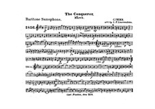 Graf Zeppelin (The Conqueror): Baritone saxophone part by Carl Teike