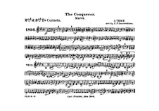 Graf Zeppelin (The Conqueror): Cornets II, III part by Carl Teike