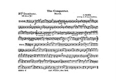 Graf Zeppelin (The Conqueror): Trombone III in B part by Carl Teike