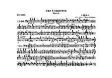 Graf Zeppelin (The Conqueror): Drum part by Carl Teike