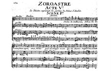 Zoroastre, RCT 62: Act V by Jean-Philippe Rameau