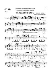 Peasant's Dance: Peasant's Dance by Leonard Schultz