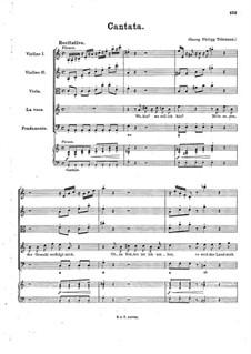 Ino. Cantata, TWV 20:41: Ino. Cantata by Georg Philipp Telemann
