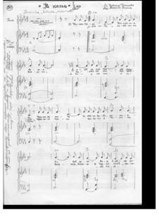 В келье: Для голоса и фортепиано by Angelina Anisina