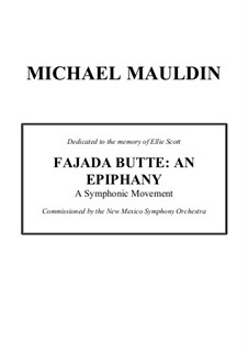 Fajada Butte: An Epiphany: Fajada Butte: An Epiphany by Michael Mauldin