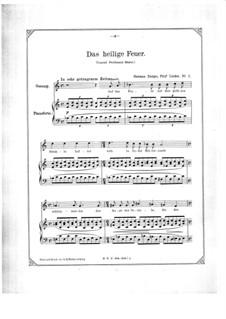 Five Songs: Five Songs by Hermann Zumpe