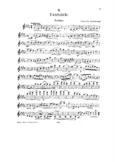 No.8 Cantabile: Solo part by César Cui