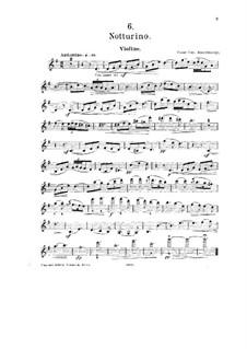 No.6 Notturino: Solo part by César Cui