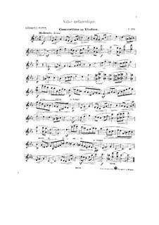 Melancholic Waltz: Score, solo part by César Cui