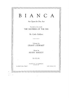 Bianca, Op.79: Bianca by Henry Kimball Hadley
