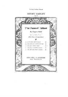 The Blue Pigeon, Op.47 No.3: The Blue Pigeon by Henry Kimball Hadley