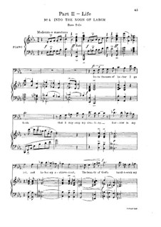 Resurgam, Op.98: Parts II-III, for soloists, choir and piano by Henry Kimball Hadley