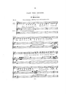 L'Allegro, il Penseroso, ed il Moderato, HWV 55: No.23-38 by Georg Friedrich Händel