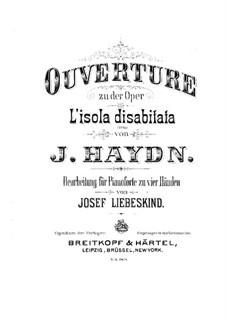 Overture to 'The Deserted Island': Overture to 'The Deserted Island' by Joseph Haydn