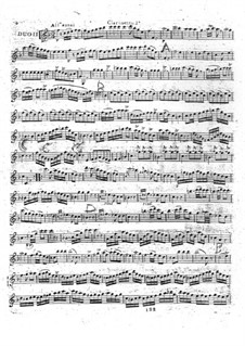 Six Duet for Two Clarinets, Op.5: Duet No.2 by Michel Yost