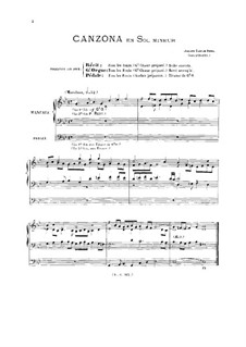 Canzone in G Minor: Canzone in G Minor by Johann Kaspar Kerll