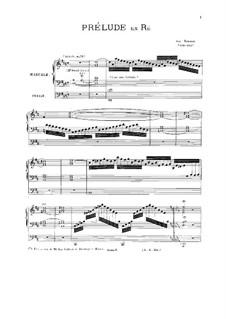 Prelude in D Major: Prelude in D Major by Josef Seeger