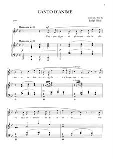 Canto d'anime: Canto d'anime by Giacomo Puccini