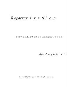 Reparametrization 1: Reparametrization 1 by Ryan Ingebritsen