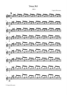 Этюд No.1: Этюд No.1 by Sergei Volodin