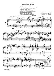 Waldscenen (Forest Scenes): No.4 Verrufene Stelle (Haunted Spot) by Robert Schumann