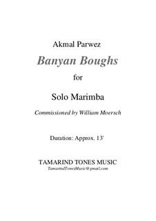 Banyan Boughs for Solo Marimba: Banyan Boughs for Solo Marimba by Akmal Parwez