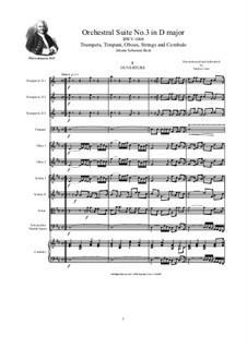 Complete Cycle: Score, parts by Johann Sebastian Bach