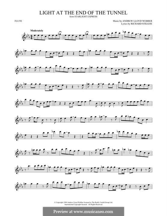 Light at the End of the Tunnel: For flute by Andrew Lloyd Webber