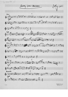 Sketchy Little Melodies for a Solo Instrument: Sketchy Little Melodies for a Solo Instrument by Ernst Levy