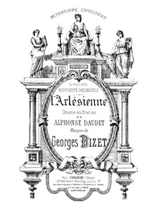 Complete Opera: Piano-vocal score by Georges Bizet