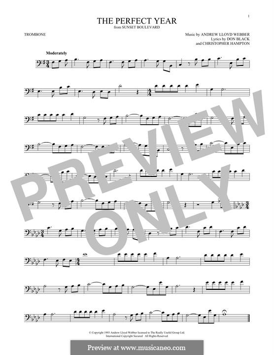 The Perfect Year: For trombone by Andrew Lloyd Webber