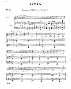 Haste to the Wedding: Acts II-III, for soloists, choir and piano by George Grossmith