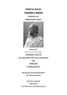 Tagore Lieder: Tagore Lieder by Matthias Bonitz