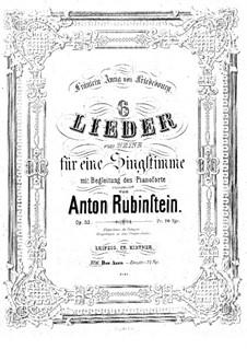 The Asra, Op.32 No.6: In G Minor by Anton Rubinstein