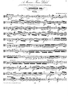 Quartet for Strings No.7 in D Minor, Op.90 No.1: Viola part by Anton Rubinstein