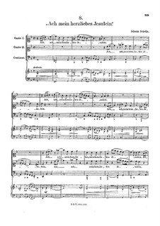 Ach, mein herzliebes Jesulein: Ach, mein herzliebes Jesulein by Johann Schelle