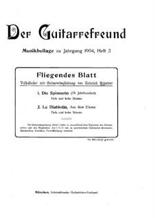 Fliegendes Blatt: Fliegendes Blatt by Heinrich Scherrer
