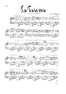 La Paloma (The Dove): B Flat Major by Sebastián Yradier
