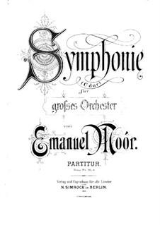 Symphony in C Major, Op.67: Symphony in C Major by Emanuel Moór