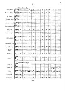 Symphony in E Minor, Op.65: Movements II-III by Emanuel Moór