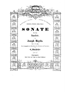 Sonatas for Piano (Collection): Book II by Joseph Haydn
