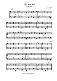 Kirkconnel Lea / The Fower Maries / Sound The Pibroch: No.1 Kirkconnel Lea by folklore