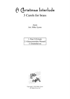 Christmas interlude: For brass quintet by folklore