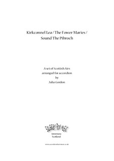 Kirkconnel Lea / The Fower Maries / Sound The Pibroch: Complete set by folklore