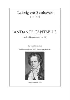 Movement III: For organ by Ludwig van Beethoven